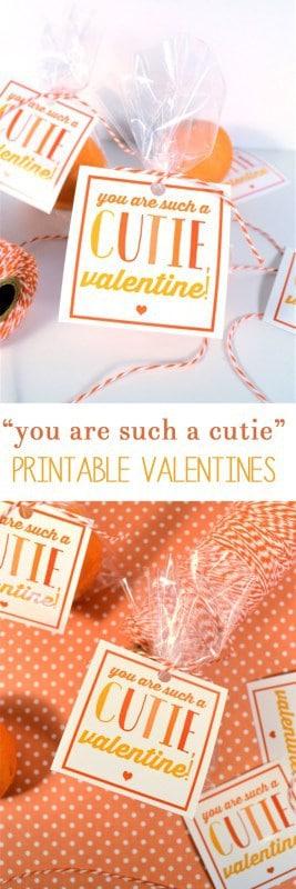 printable valentines | cutie valentines | free printables | valentines day | valentines ideas | non candy valentines