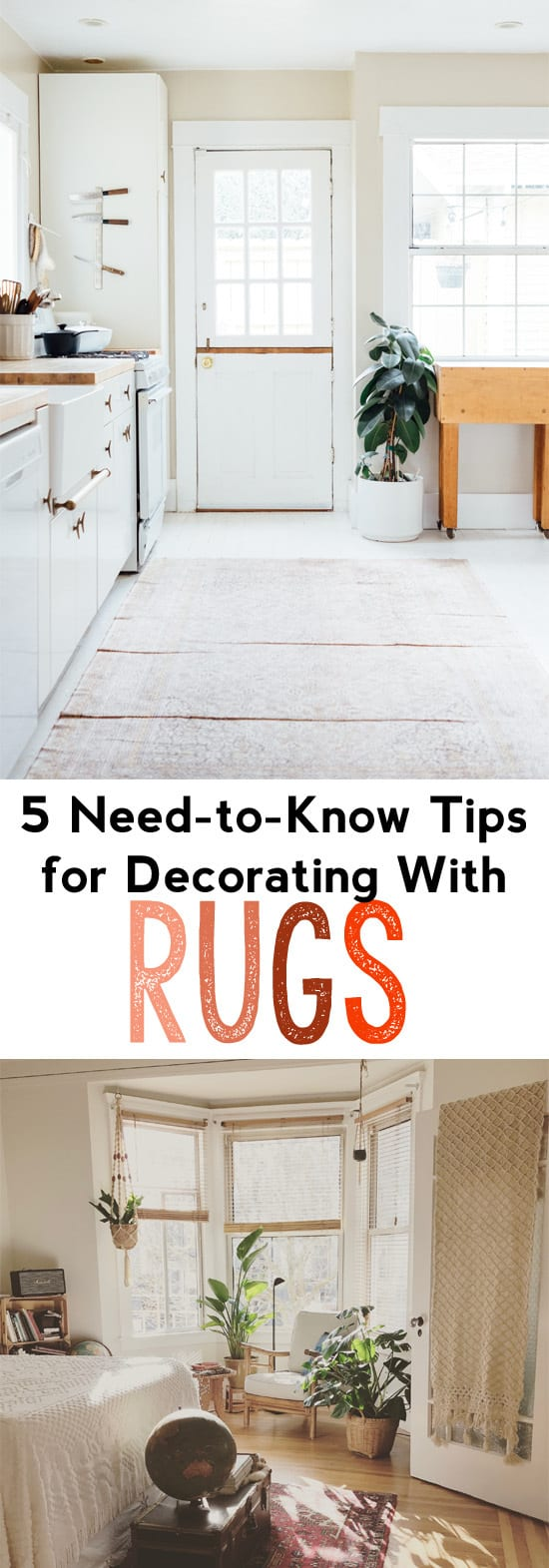 rug decorating tips