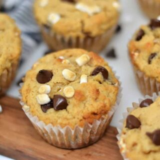 S'MORES MUFFINS {AN EASY RECIPE}