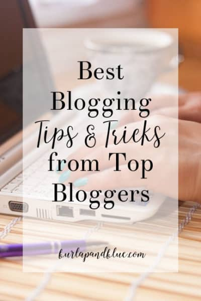 best blogging tips