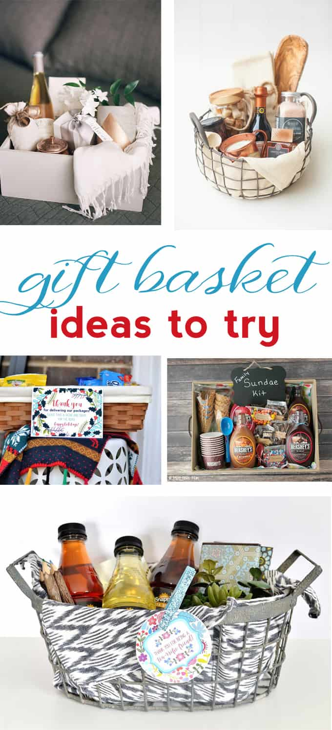 Gift Basket Ideas {How to Make a Gift Basket They\'ll Love}
