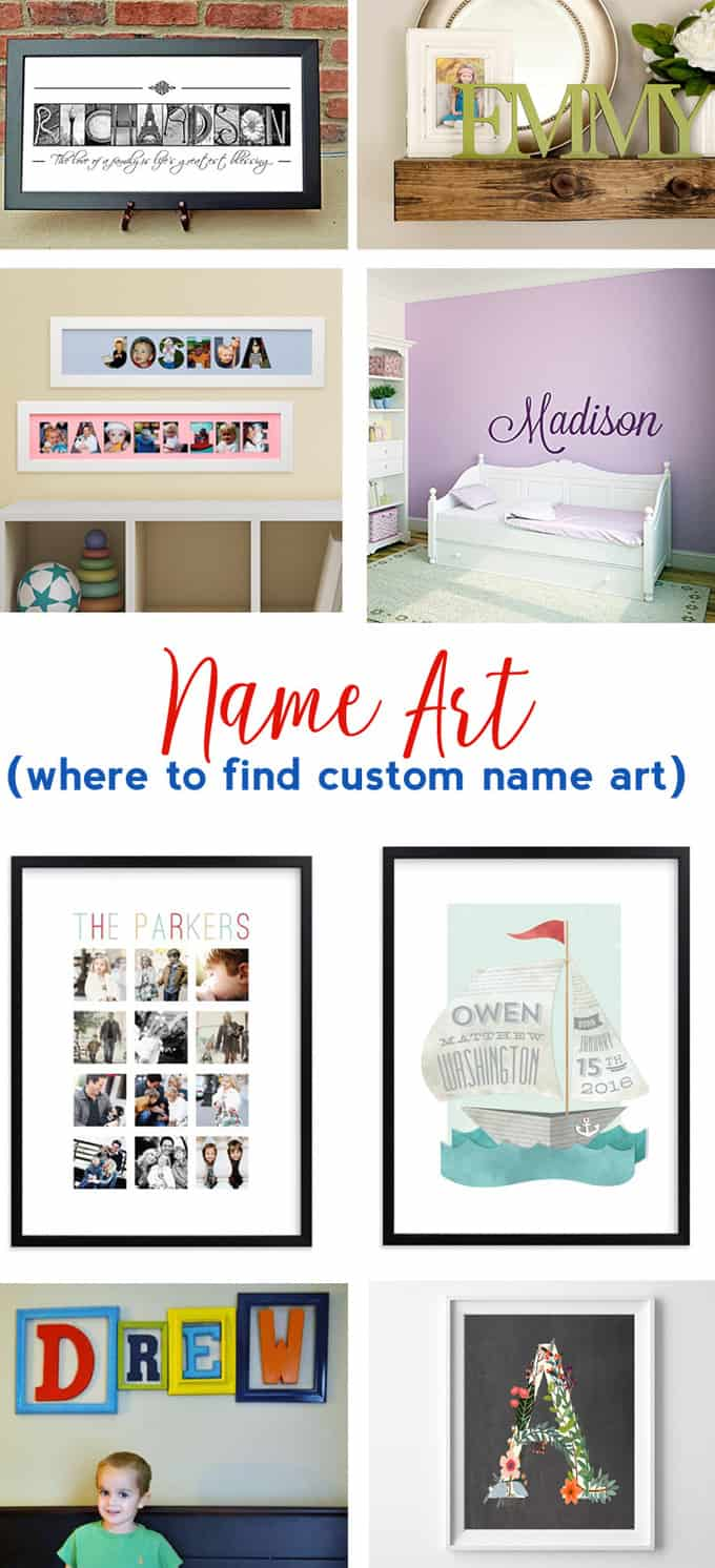 name art | personalized name art | custom art