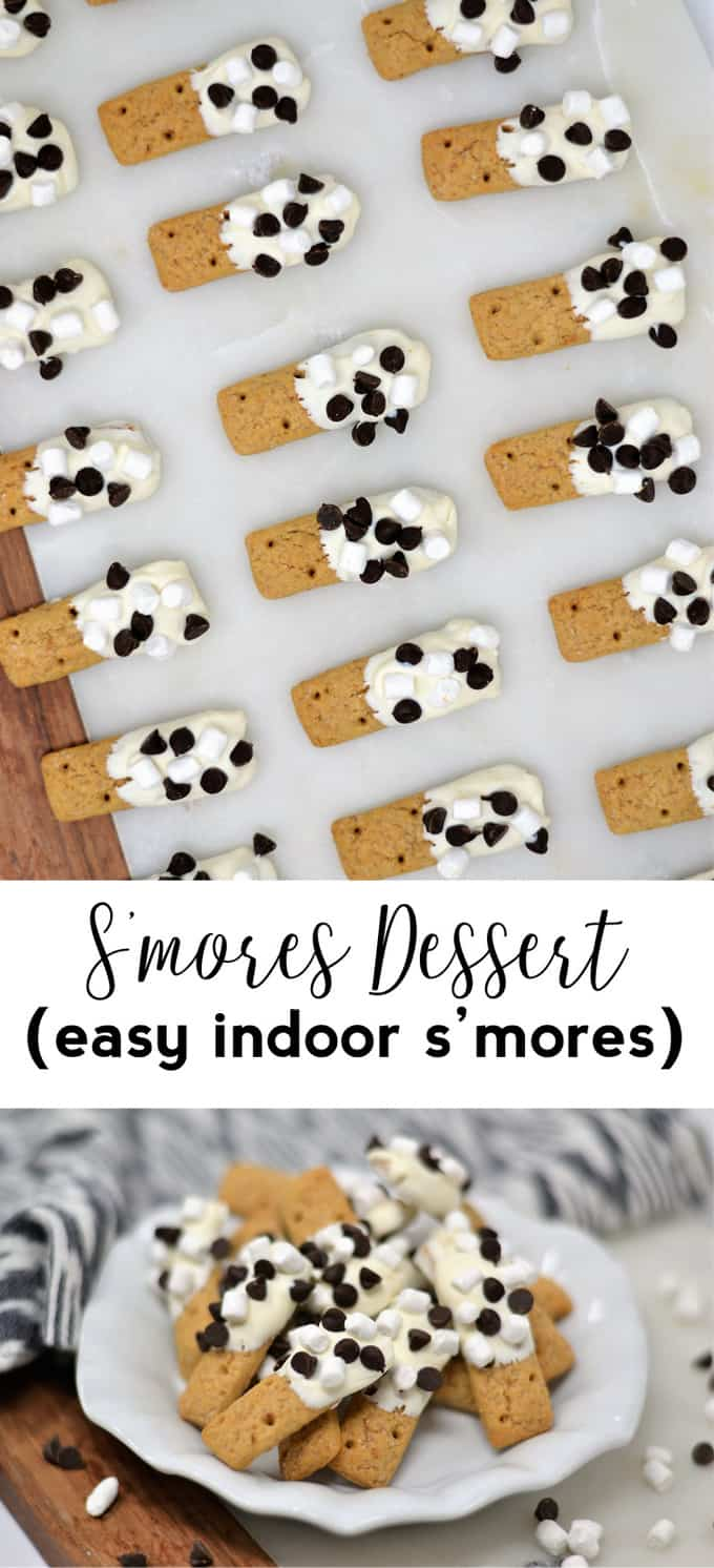 s'mores dessert recipe | fall recipes | smores | s'mores | dessert idea | potluck | easy dessert | kids recipes | easy recipes | chocolate