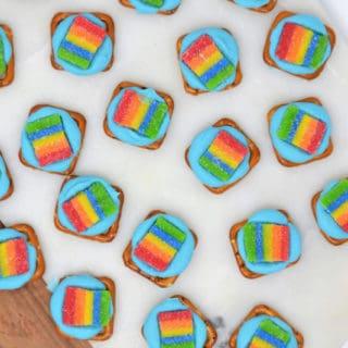 Rainbow Party Ideas {Make Easy Rainbow Treats}