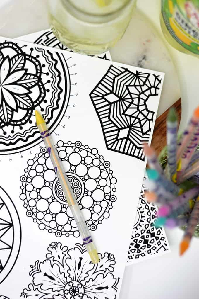 mandala coloring pages 5