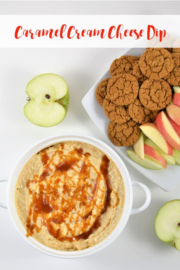 caramel cream cheese dip | fruit dip recipe | easy appetizer | appetizer recipe | sweet recipe | dessert | fruit recipe | dip recipe