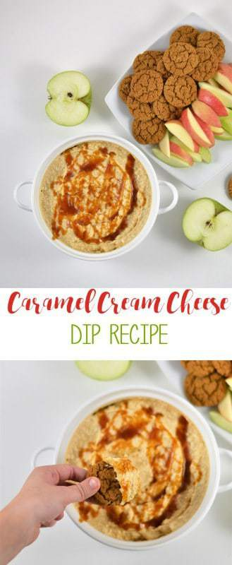cream cheese dip recipe | easy appetizer | caramel dip | dessert dip | recipe idea
