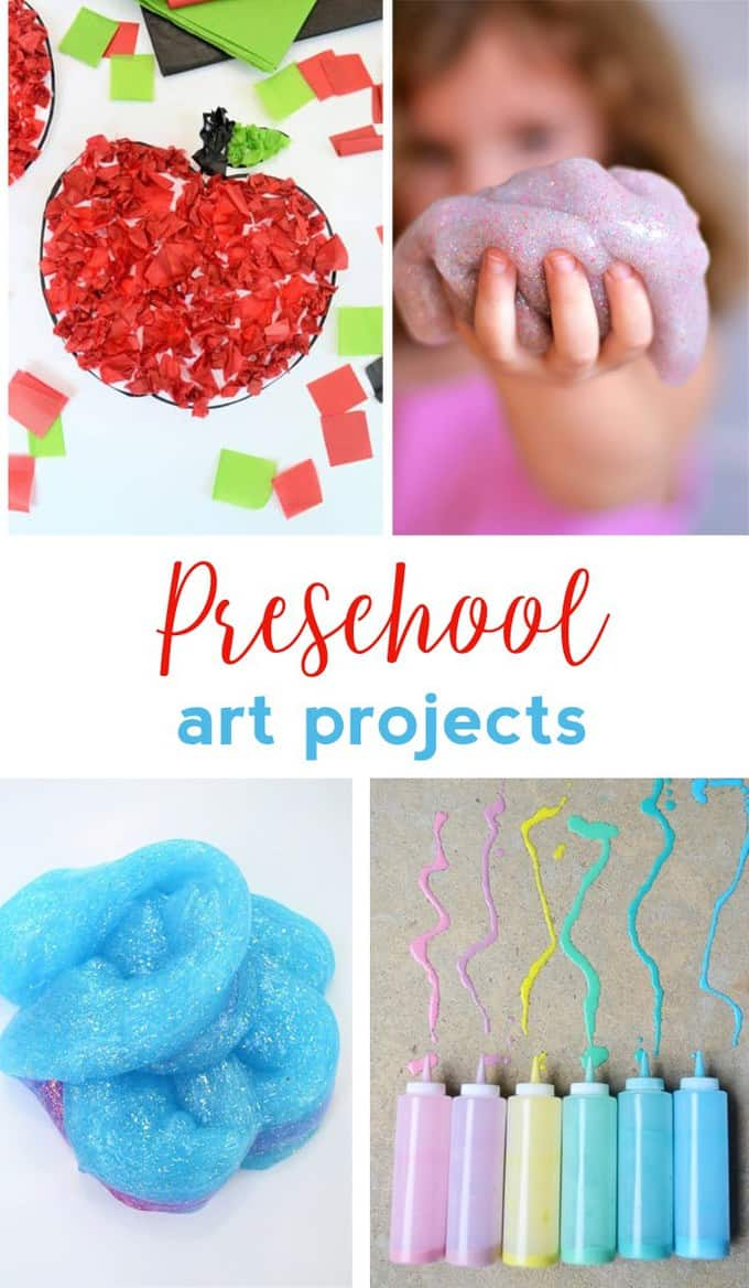 PRESCHOOL ART PROJECTS