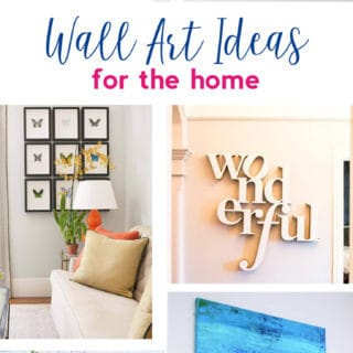 Art Ideas {Lots of Canvas Art, Free Printables and More to Decorate Your Walls}