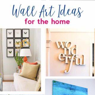 art ideas | wall art ideas | wall decor | canvas art | home decor
