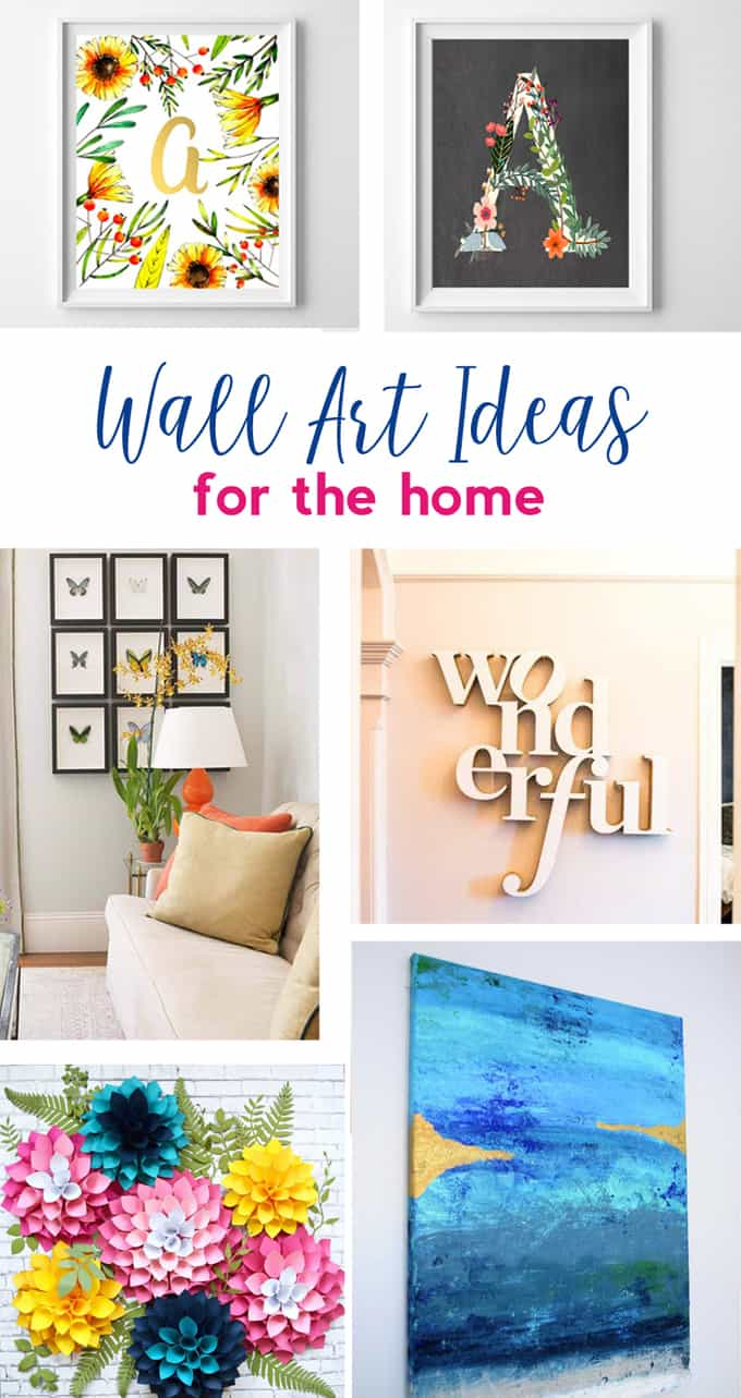 Art Ideas {Lots of Canvas Art, Free Printables and More to Decorate ...