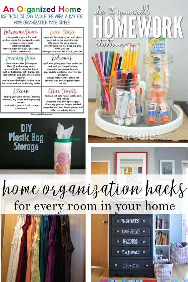organizational hacks | Home Organization | home tips