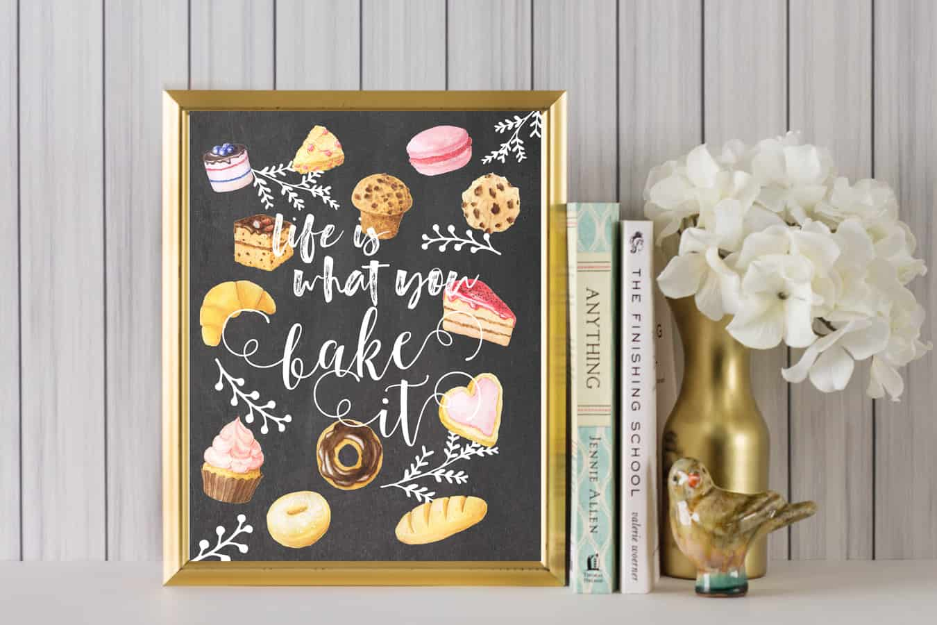 free kitchen printable art