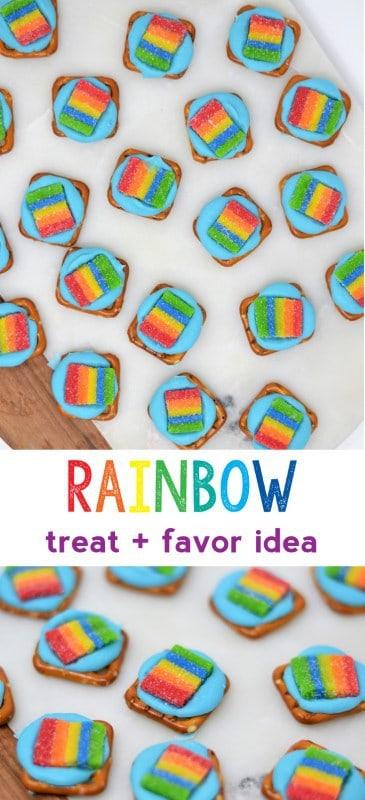rainbow party ideas | rainbow treat | rainbow candy recipe