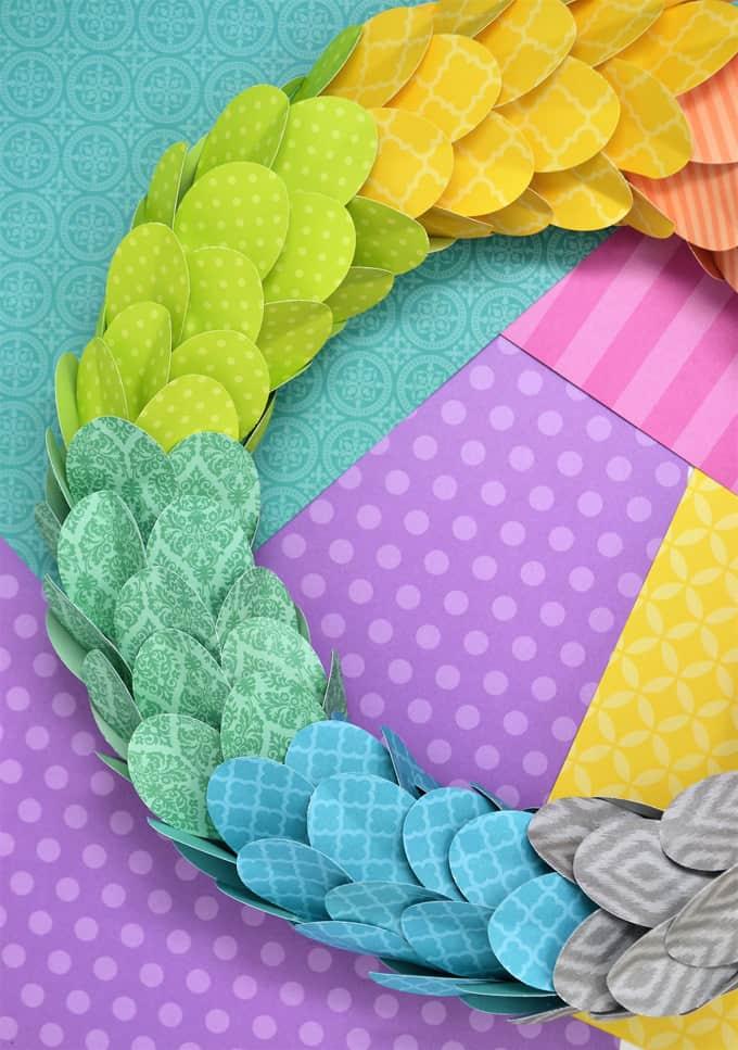 paper wreath 3