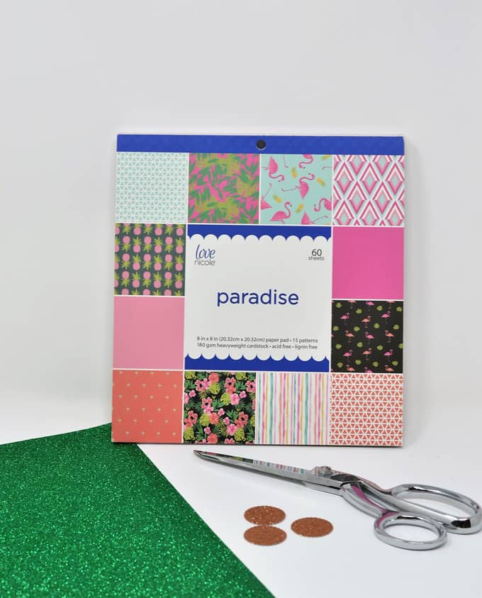 scrapbook paper craft