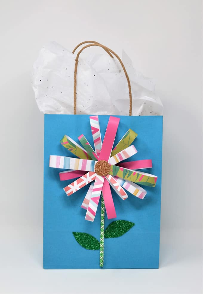 flower gift bag how to