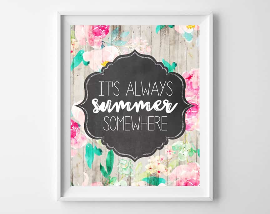 summer printable art 2