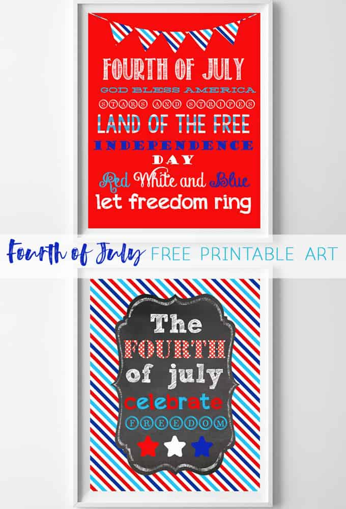 fourth of july art