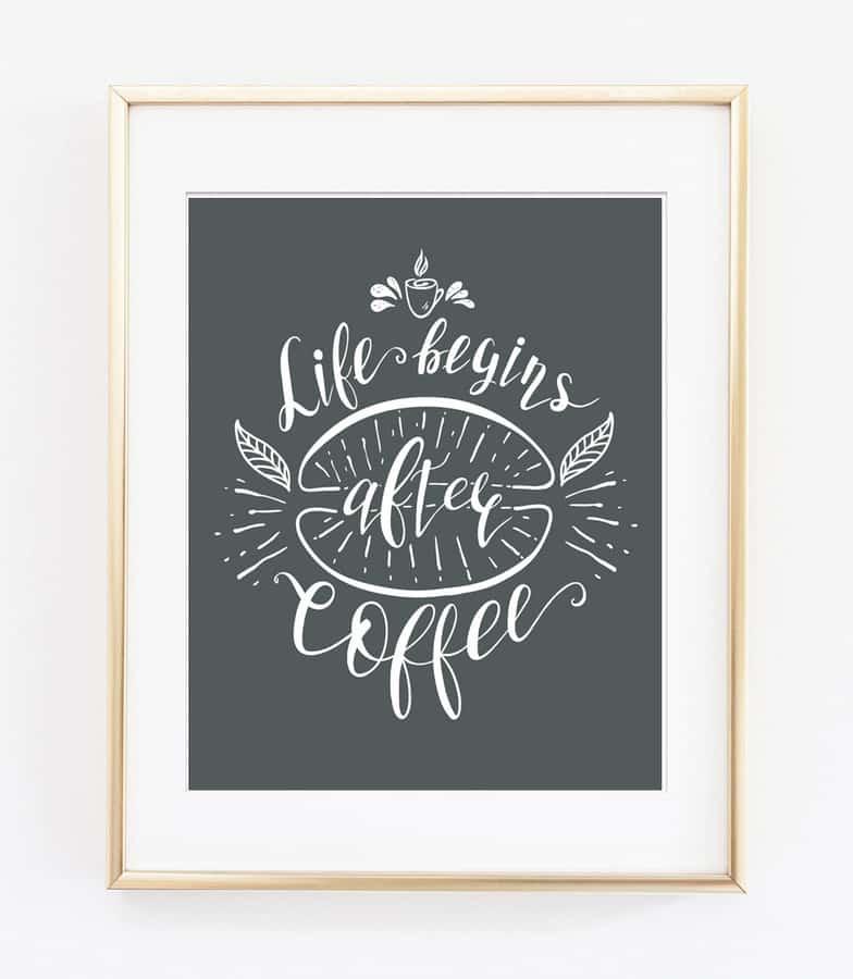 coffee decor free 3