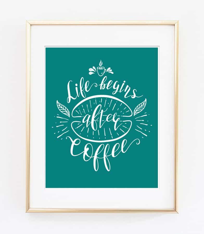 coffee decor free 1