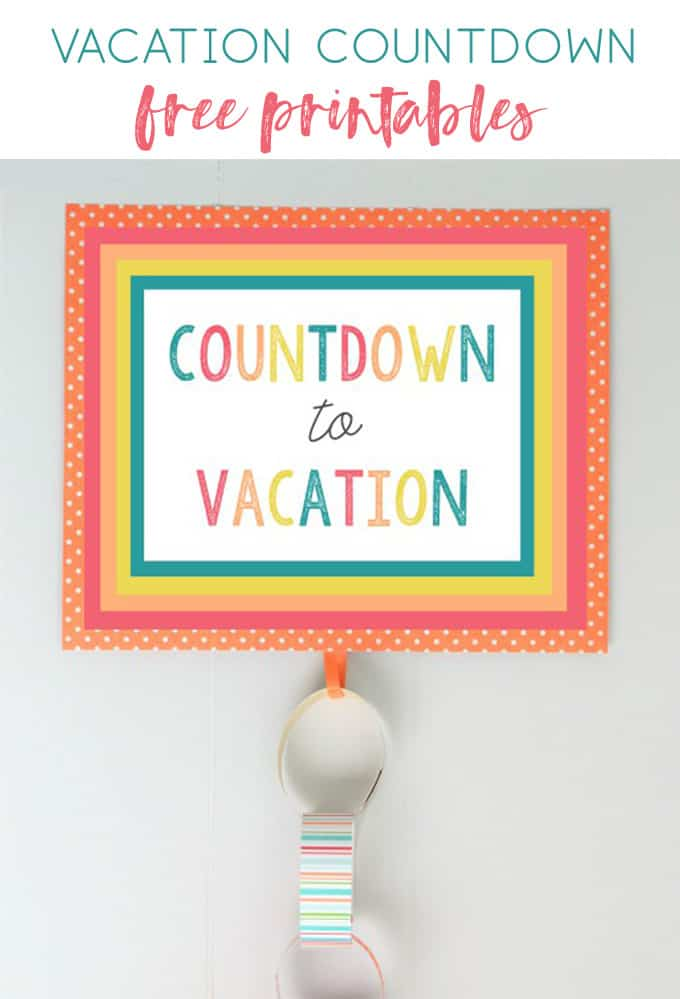 vacation countdown idea 5