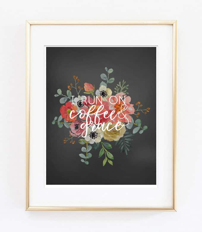 coffee quote printable
