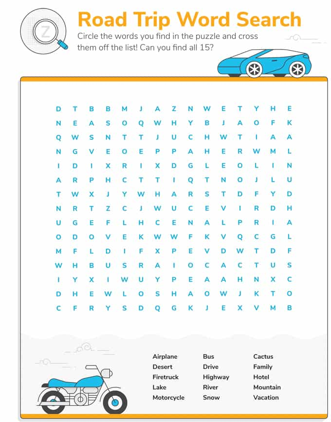 Car Games For Kids {Free Printable Road Trip Games & Ideas}