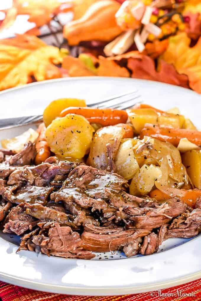 crock pot chuck roast
