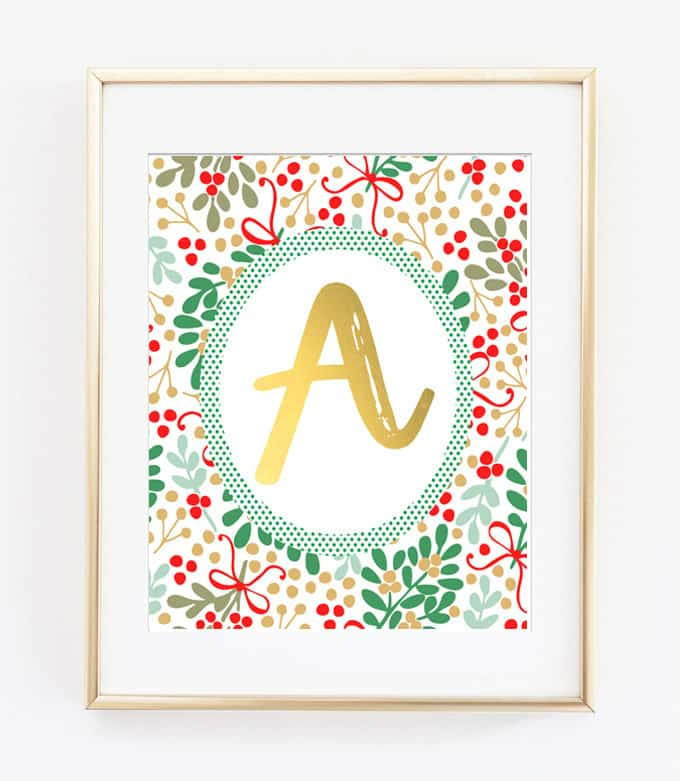 christmas printable art