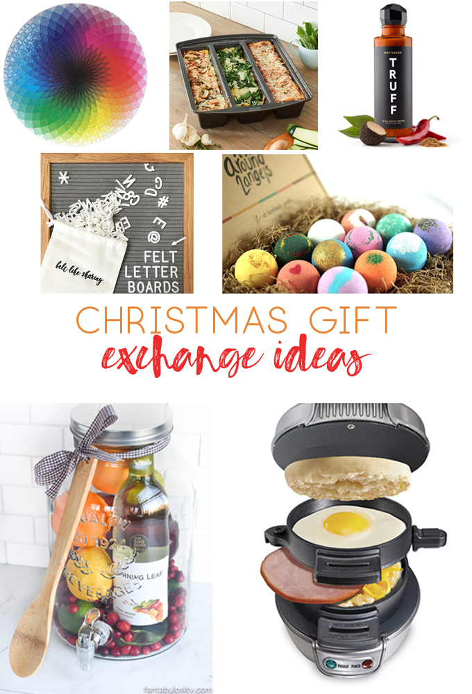 Christmas Gift Exchange Ideas {Gift Ideas to Make and Buy ...