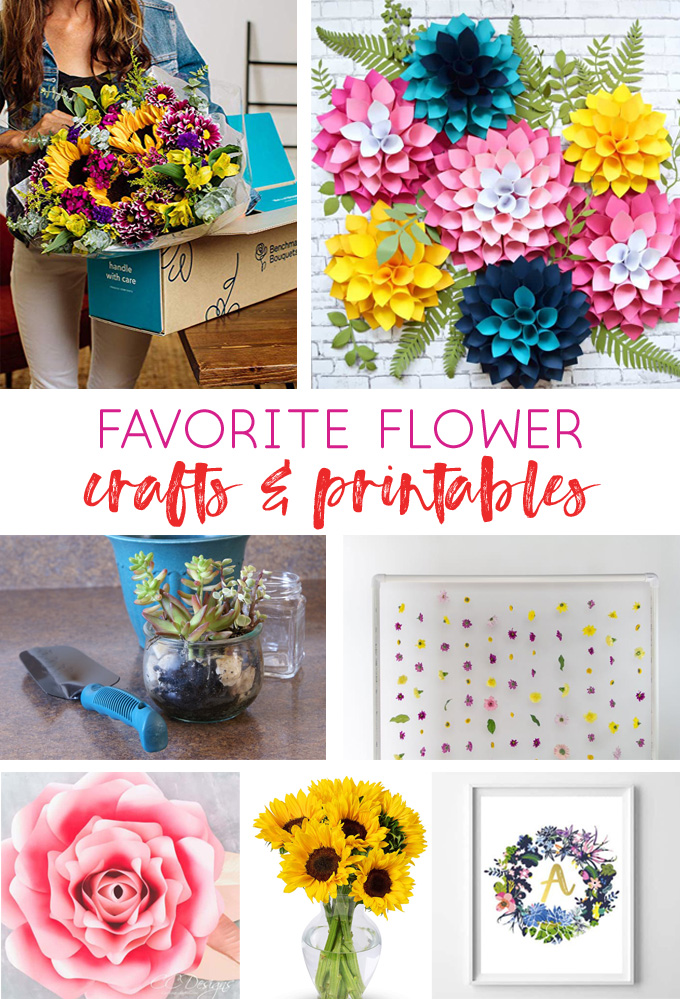 flower shop | floral crafts | floral printables | flower art | free printables | amazon | floral art ideas