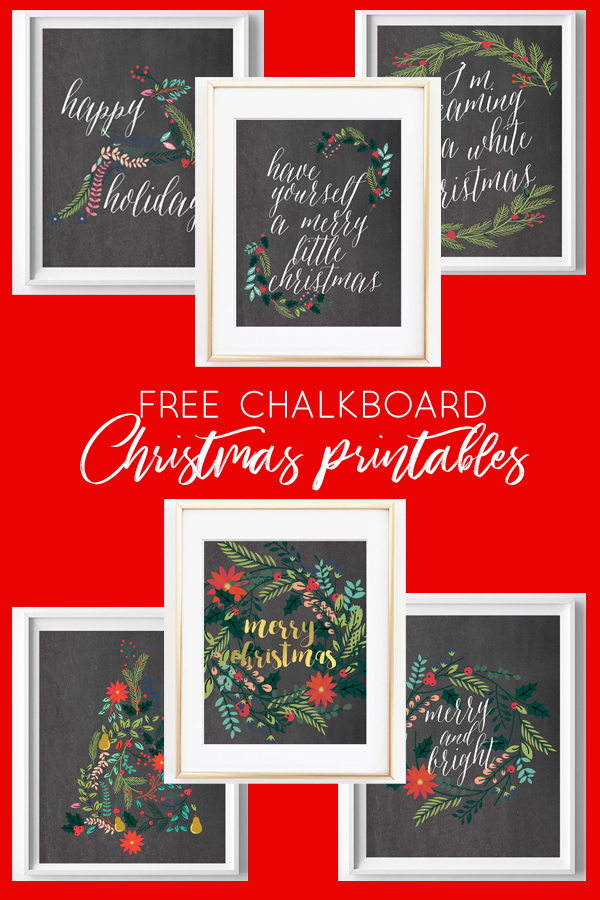 picture relating to Free Chalkboard Printable referred to as Cost-free Printable Chalkboard Xmas Artwork