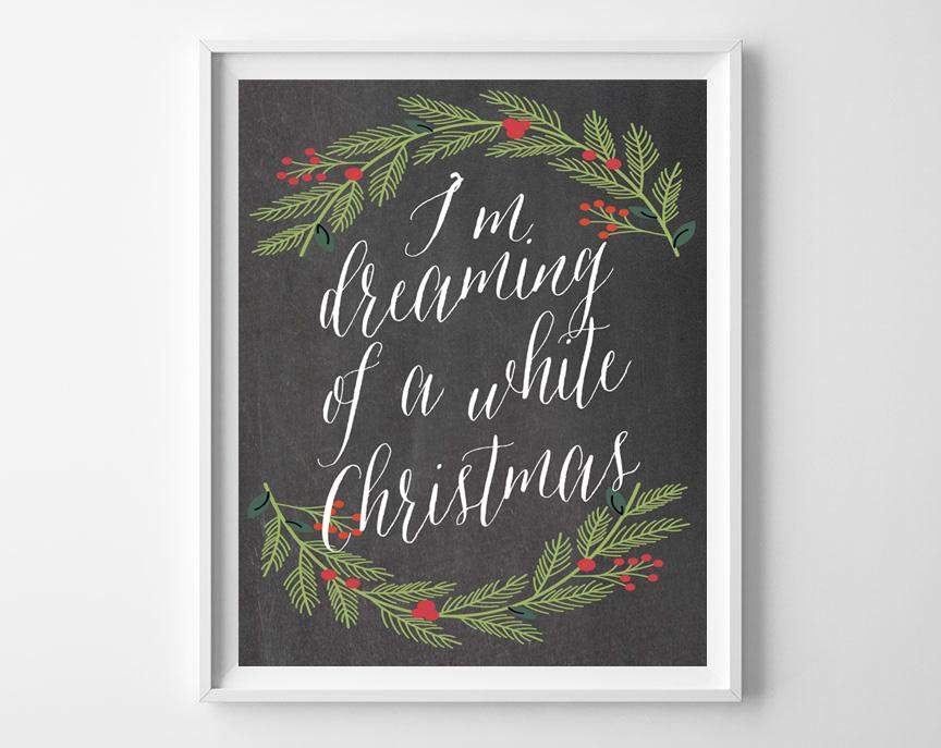 chalkboard christmas printables 4