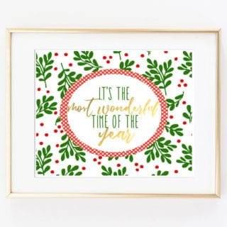 free holiday printables 2