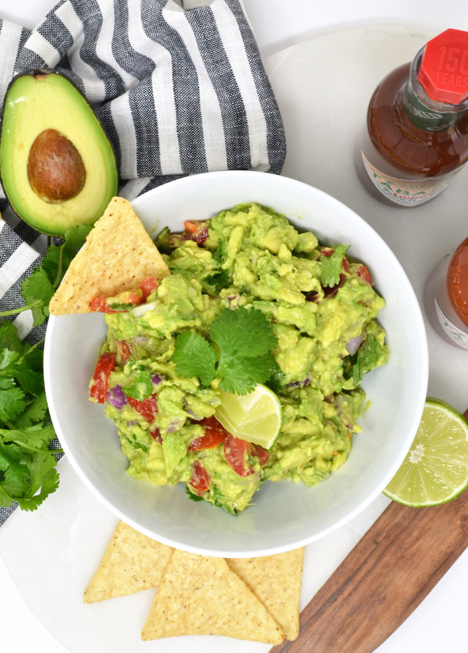 TABASCO® Guacamole {An Easy and Delicious Guacamole Recipe}
