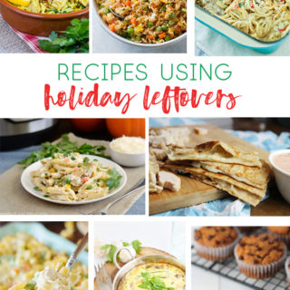 recipes using leftovers
