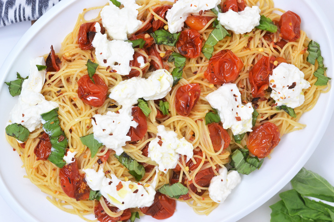 pasta with burrata 3