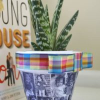 gifts for mom-make a custom photo planter {a tutorial}