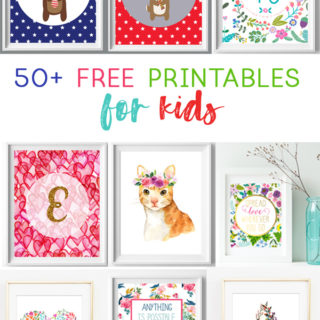 free printables | kids | wall art | nursery decor | playroom | art for kids | kid printables | free prints | wall art ideas