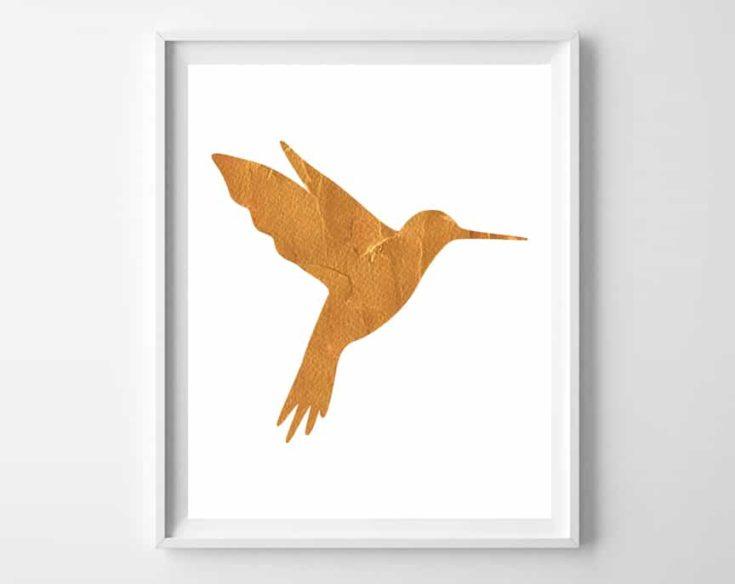 Hummingbird Art {3 free printable designs}