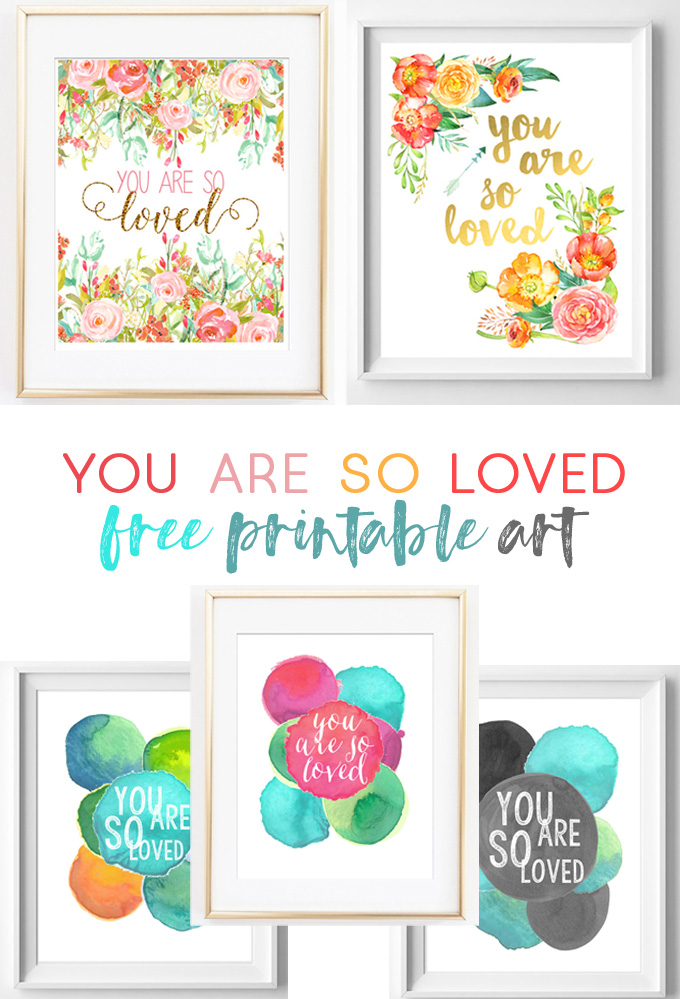 graphic relating to Free Printable Nursery Art named On your own Are Thus Relished Totally free Printable Artwork