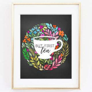 tea printable art 3