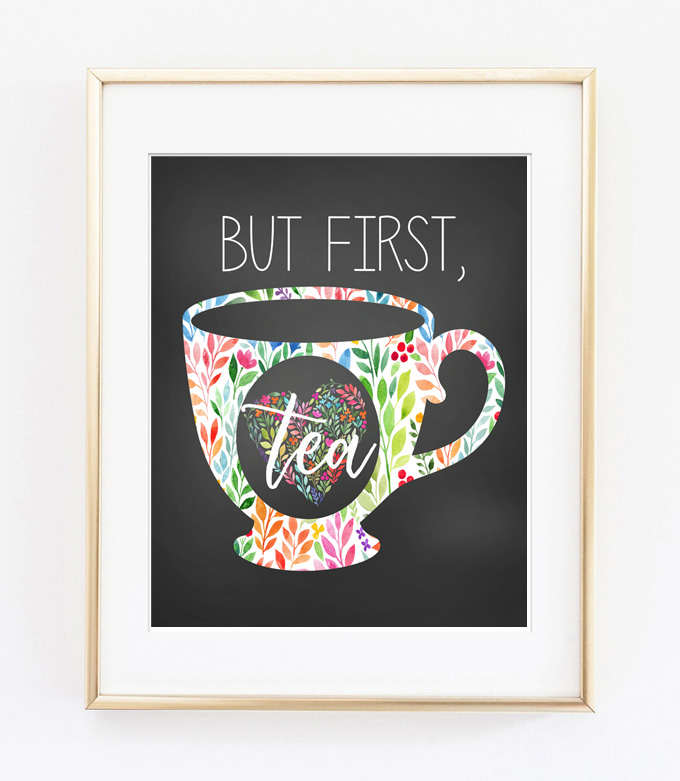 tea printable art 2