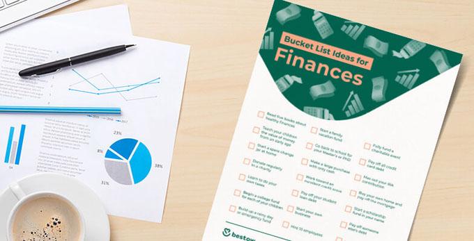 bucket list printable finances
