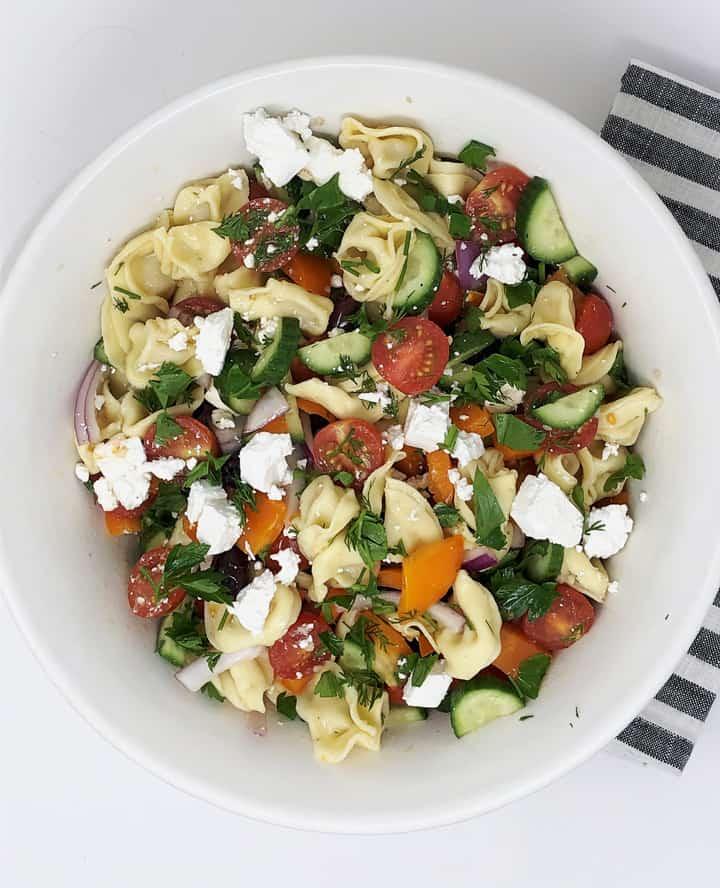 greek pasta salad recipe 3
