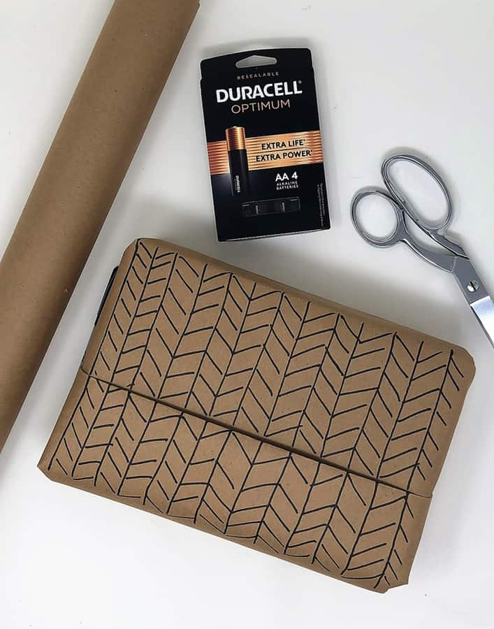 duracell batteries for a gift