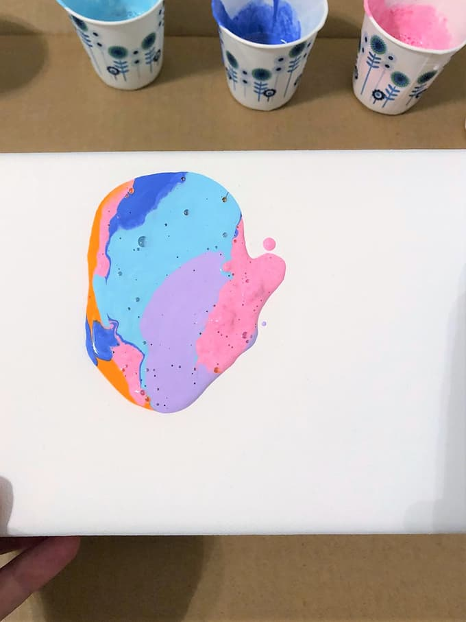 paint on canvas