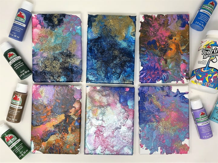 Pour Painting-How to Create Your Own Canvas Art
