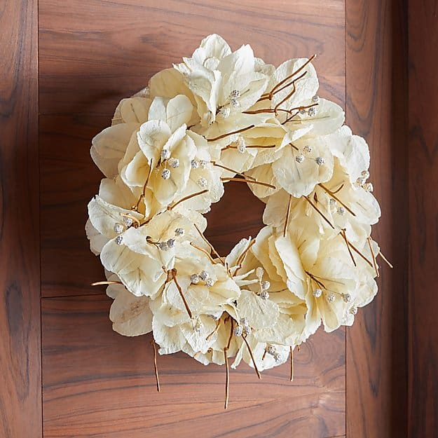 Mussaenda Leaf Wreath